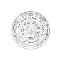 Dewdrop Clear Salad Plate, By Iittala