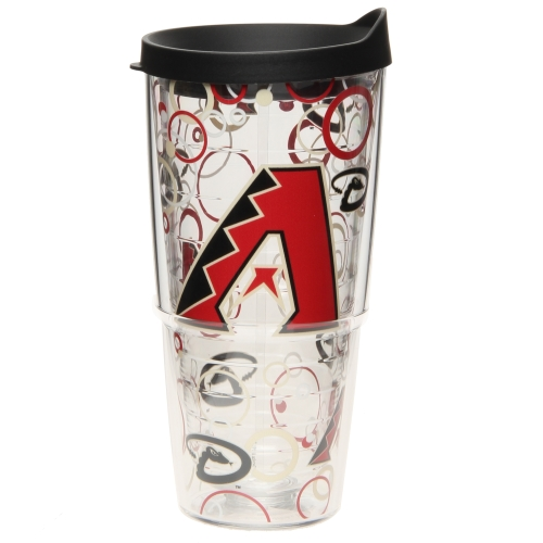 Arizona Diamondbacks Tervis 24oz. Bubble Up Wrap Tumbler with Lid - No Size