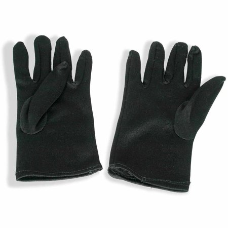 Theatrical Black Gloves Child Halloween Costume Accessory