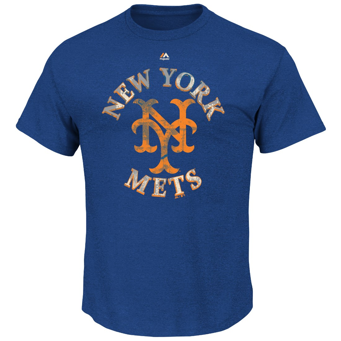 "New York Mets Majestic MLB ""First Among Equals"" Cooperstown S/S Men's T-Shirt"