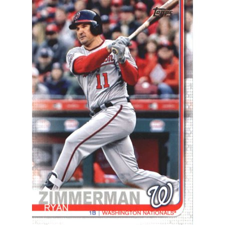 2019 Topps #133 Ryan Zimmerman Washington Nationals Baseball Card - *GOTBASEBALLCARDS ()