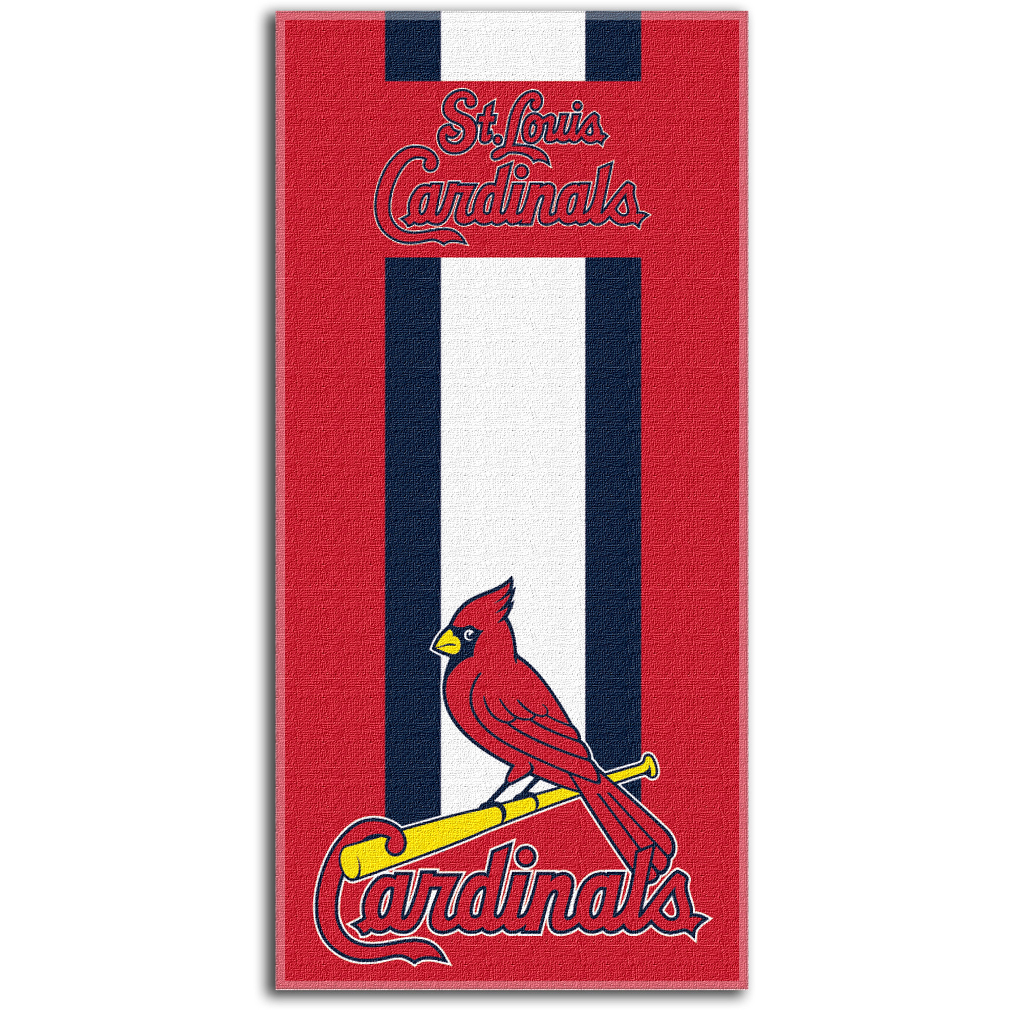 St. Louis Cardinals The Northwest Company Zone Read Beach Towel - No Size