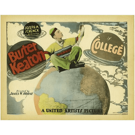 Broke College Kid Halloween Costumes (College POSTER (27x40) (1927) (Style)