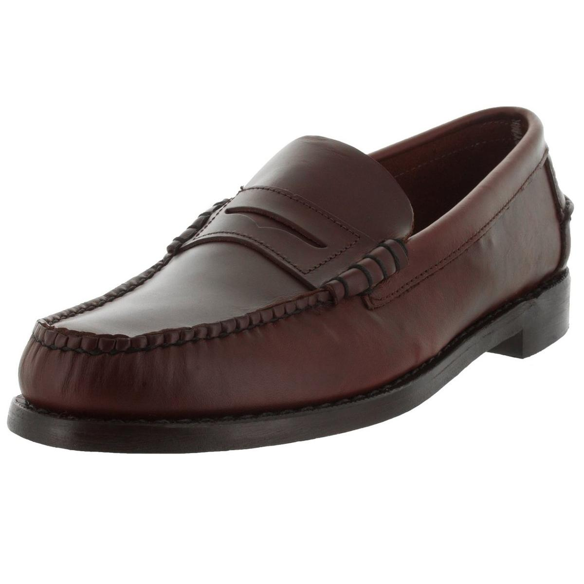 Sebago Men's Classic Brown Oiled Waxy Loafers by Sebago