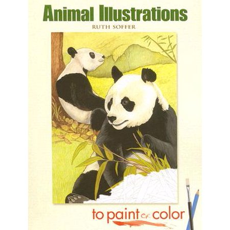 Animal Illustrations to Paint or Color - Animals To Color