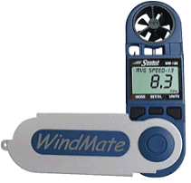 Weatherhawk WM-100 WindMate Anemometer Basic Handheld Wind Meter by