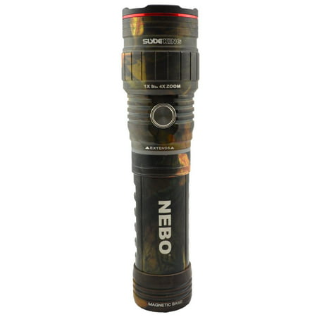 Nebo 6754 Slyde King 500 Lumen Rechargeable LED Flashlight Work Light (Camo)