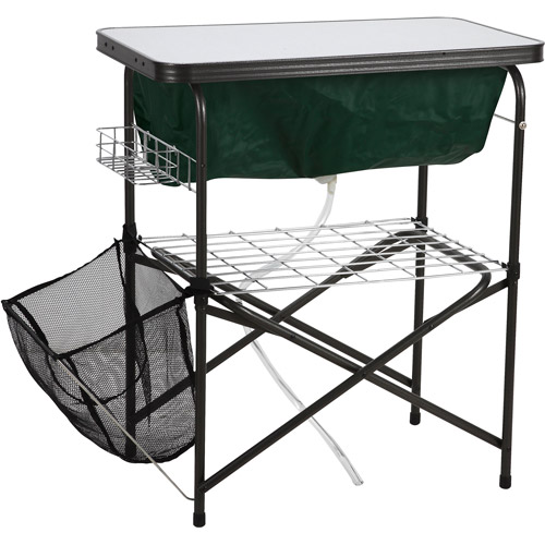 Ozark Trail Easy Clean Up Camp Sink for Outdoor Use
