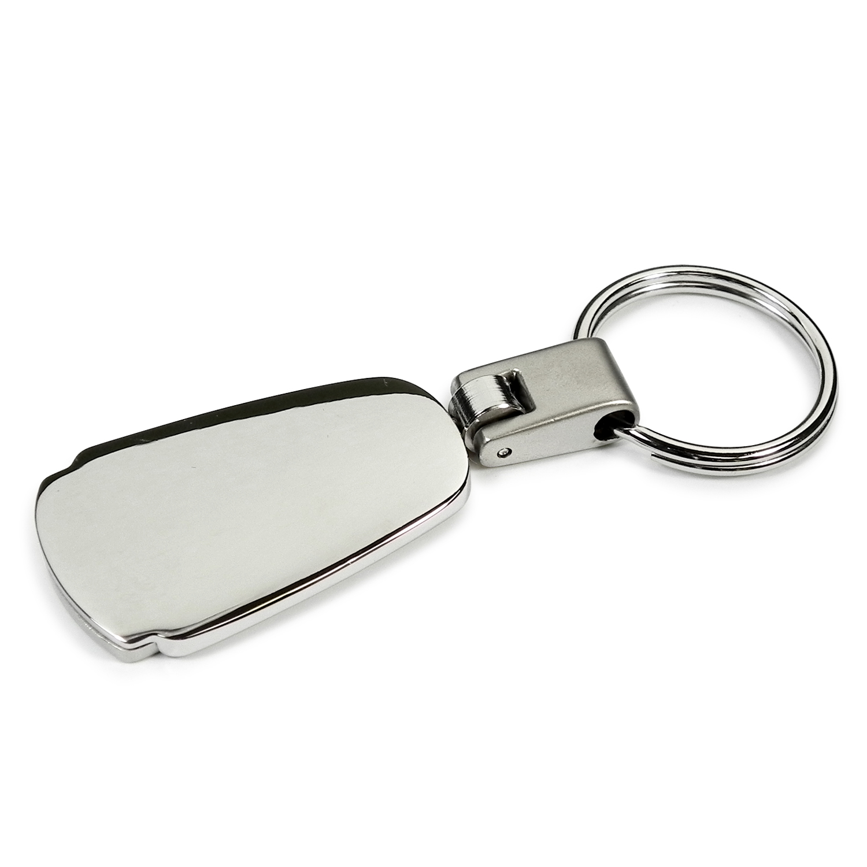 Lincoln MKC Chrome Metal Tear Drop Key Chain Au-Tomotive Gold