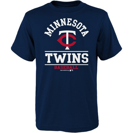 - Youth Navy Minnesota Twins Arch T-Shirt