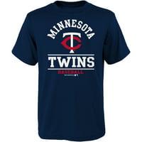 Youth Navy Minnesota Twins Arch T-Shirt