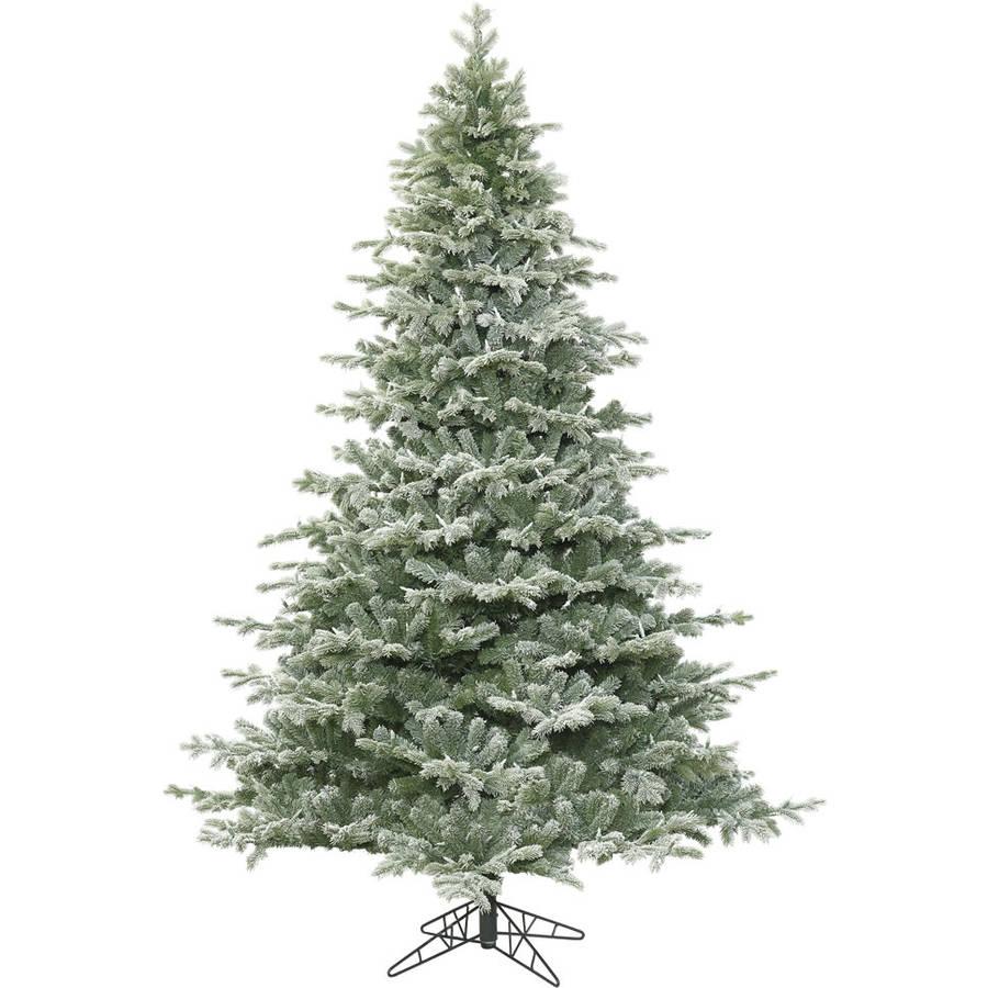 Lightly Flocked Christmas Trees