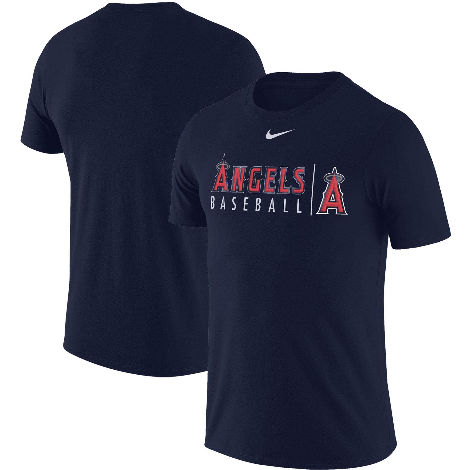 Los Angeles Angels Nike MLB Practice T-Shirt - Navy