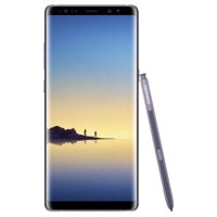 Samsung Galaxy Note8 N950U 64GB Unlocked GSM LTE Android Phone w/ Dual 12 Megapixel Camera - Orchid Gray (Used)