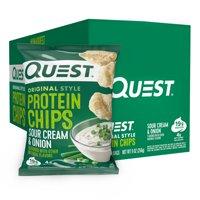 Quest Protein Chips Sour Cream & Onion 8PK