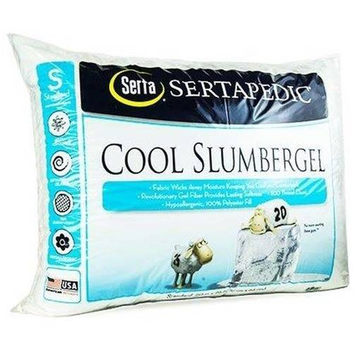 Sertapedic Cool SlumberGel Pillow, 1 Pack, Standard/Queen Size