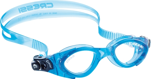 Cressi Crab Kids Swim Goggles (Pink Frame   Clear Lens) by Cressi