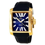 CE3018 Men's CEO Goliath Navy Blue Dial Rose Gold Steel Navy Blue Leather Strap Watch