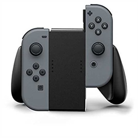 PowerA Joy-Con Comfort Grip For Nintendo Switch-Black (1501064-01) ()