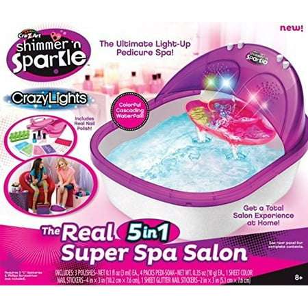 Shimmer and Sparkle The Real Super Spa Salon by