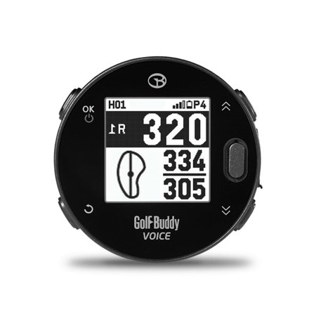 New Golf Buddy Voice X Golf Gps Golf Buddy Black Audio Distance 2018