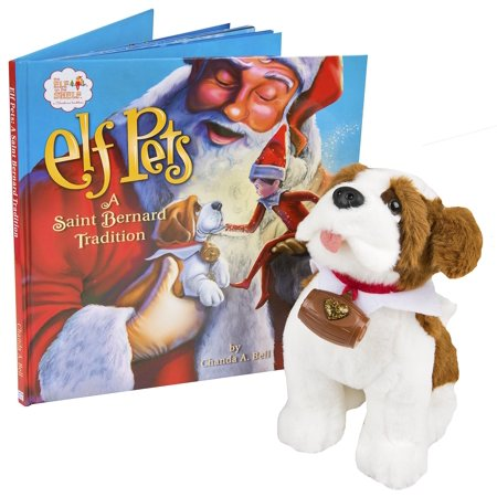 The Elf on the Shelf Pets: A Saint Bernard - Buy Elf On The Shelf Cheap