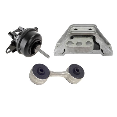 Engine Motor and Transmission Mount 2780 5324 2895 3PCS For 1998-1999 Cadillac Seville STS SLS 4.6L FWD 1998 (Cadillac Seville Sls)