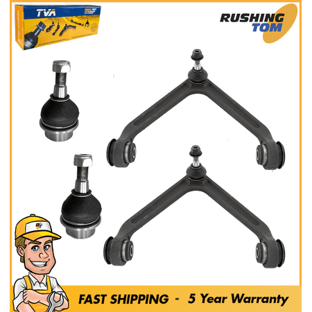 New Front Set of 2 Upper Control Arms & 2 Lower Ball Joints fits Dodge Ram 1500