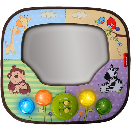 Fisher-Price - Music 'n Lights Mirror with Remote Control