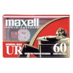 Maxell standard 60 minute cassette tape - Halloween Cassette Tapes