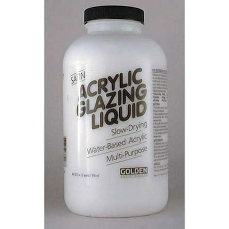 Golden - Acrylic Glazing Liquid - Satin - Quart