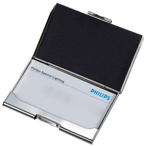 Visol Products Hera Faux Leather Business Card Holder