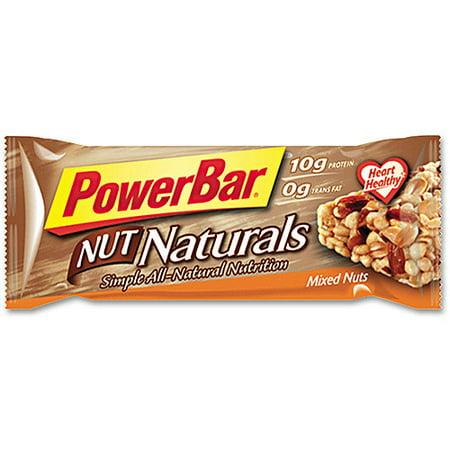 Nescafe 24100 PowerBar, Mixed Nuts, Individually Wrapped, 15/Box