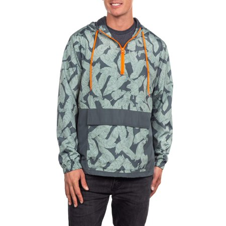 Men's Light Weight Hooded Anorak, up to size 3XL