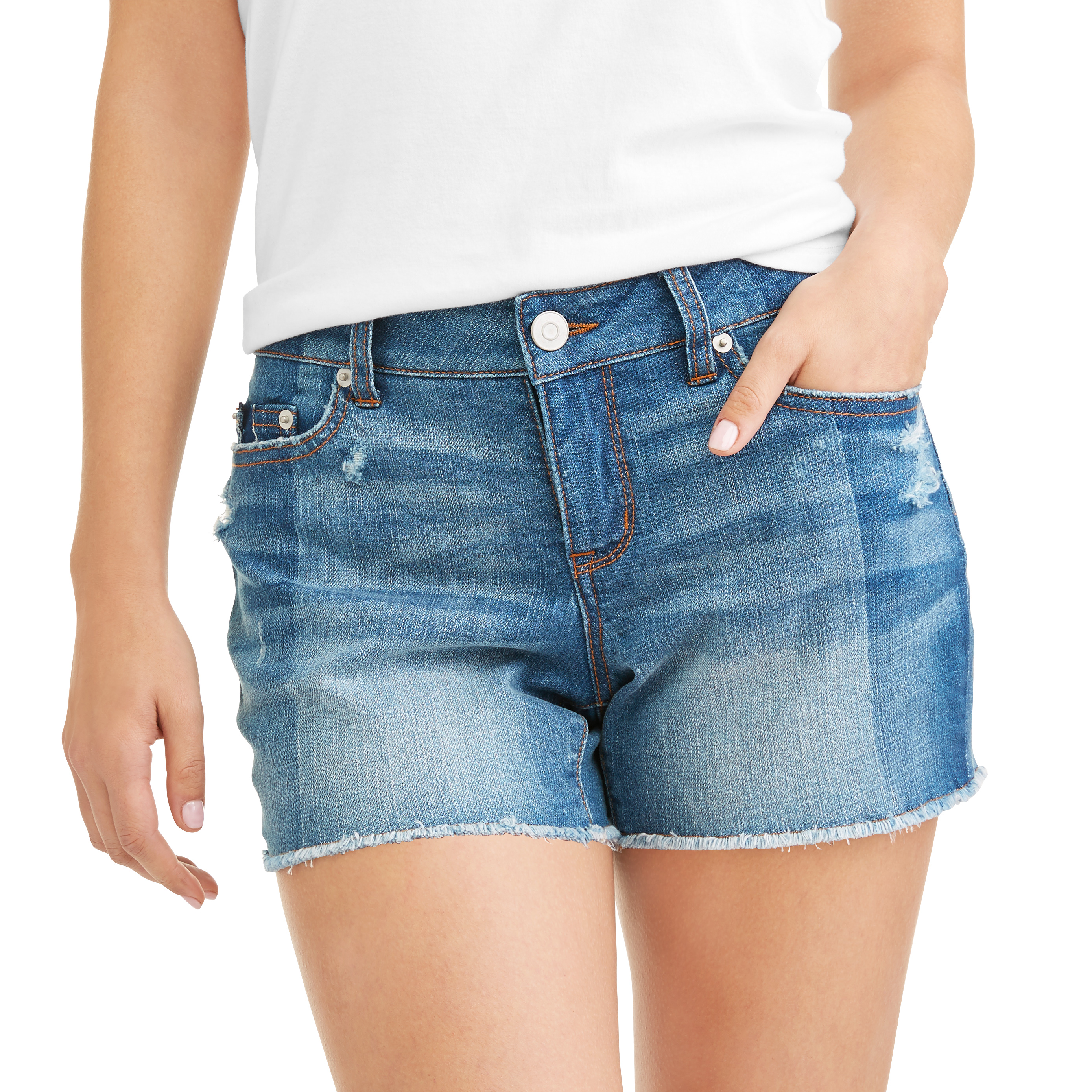 Time and True Women's Denim Shorts