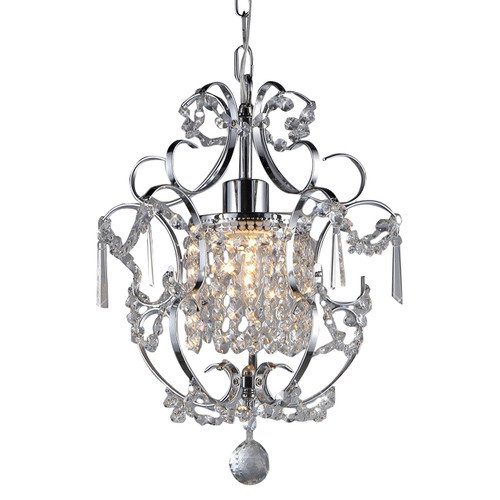 Warehouse of Tiffany Princess 1 Light Crystal Chandelier