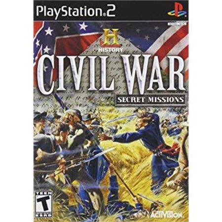 History Channel Civil War: Secret Missions - PlayStation 2