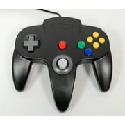 Black Replacement Controller for Nintendo N64 by Mars Devices