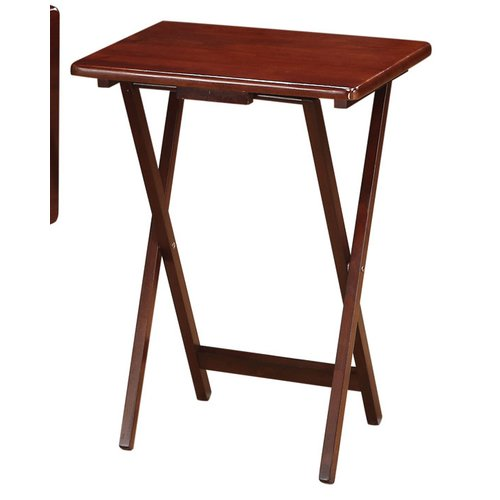 Wildon Home 5 Piece Tray Table Set by