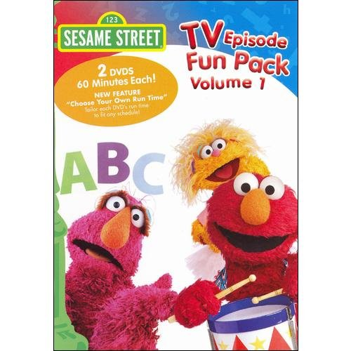 Sesame Street: TV Episode Fun Pack, Vol. 1 (Full Frame)