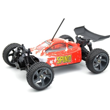 Himoto Spino 1:18 SCALE RTR 4WD ELECTRIC POWER BUGGY W/2.4G REMOTE BRUSHLESS VERSION W/LIPO BATTERY AND CHARGER (Himoto Rc Truck)