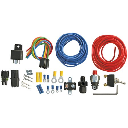 Dry Nitrous Oxide - ALLSTAR PERFORMANCE ALL76198 Nitrous Oxide Bottle Warmers Nitrous Pressure Control Kit w/-6an Adapter