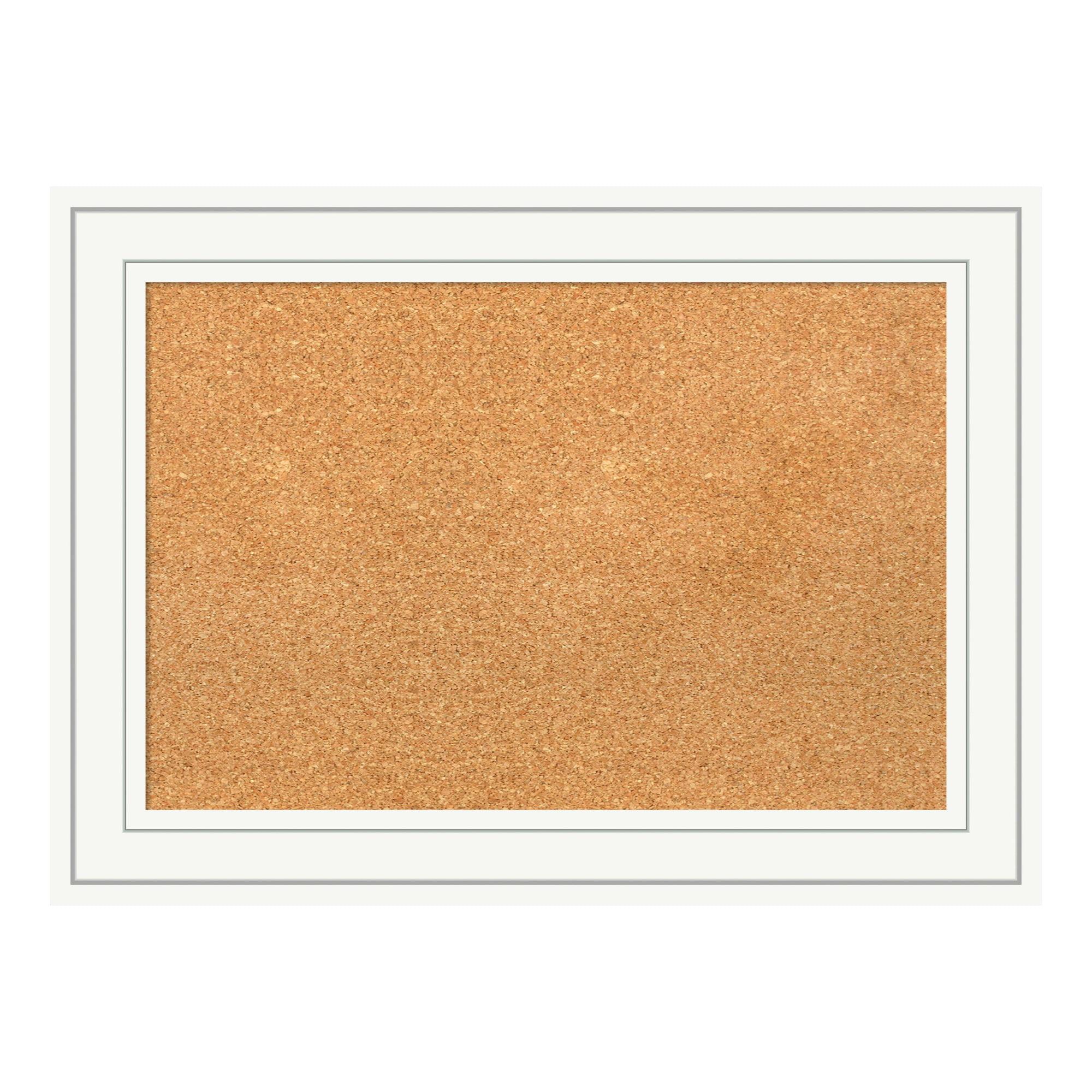 Amanti Art DSWCRACB2921 Craftsman 29 Inch x 21 Inch Framed Cork Board