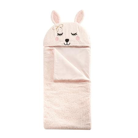 American Toddler Textured Bunny Rabbit Fur Sleeping - Toddler Sleeping Bag Personalized