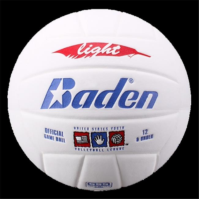 Baden VX450L-02D-F SkilCoach Light Official Size 5 Advanced Microfiber Composite Cover Training Volleyball