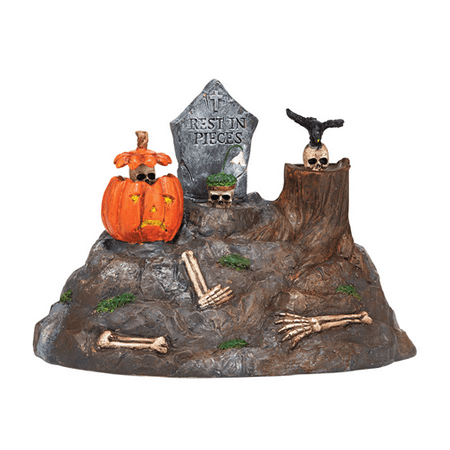 Department 56 Halloween Village Animated Skulls 2014