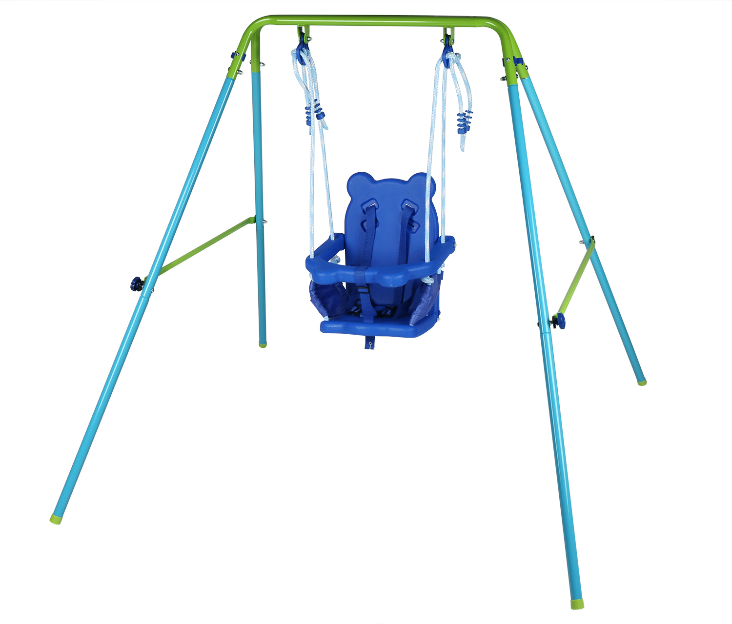 Folding Toddler Baby Swing With Seat Kids Best Gift Garden Yard Play Toy Outdoor by HLC