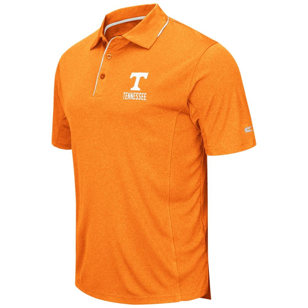 Tennessee Volunteers Vols UT Men's Short Sleeve Polo Heat...
