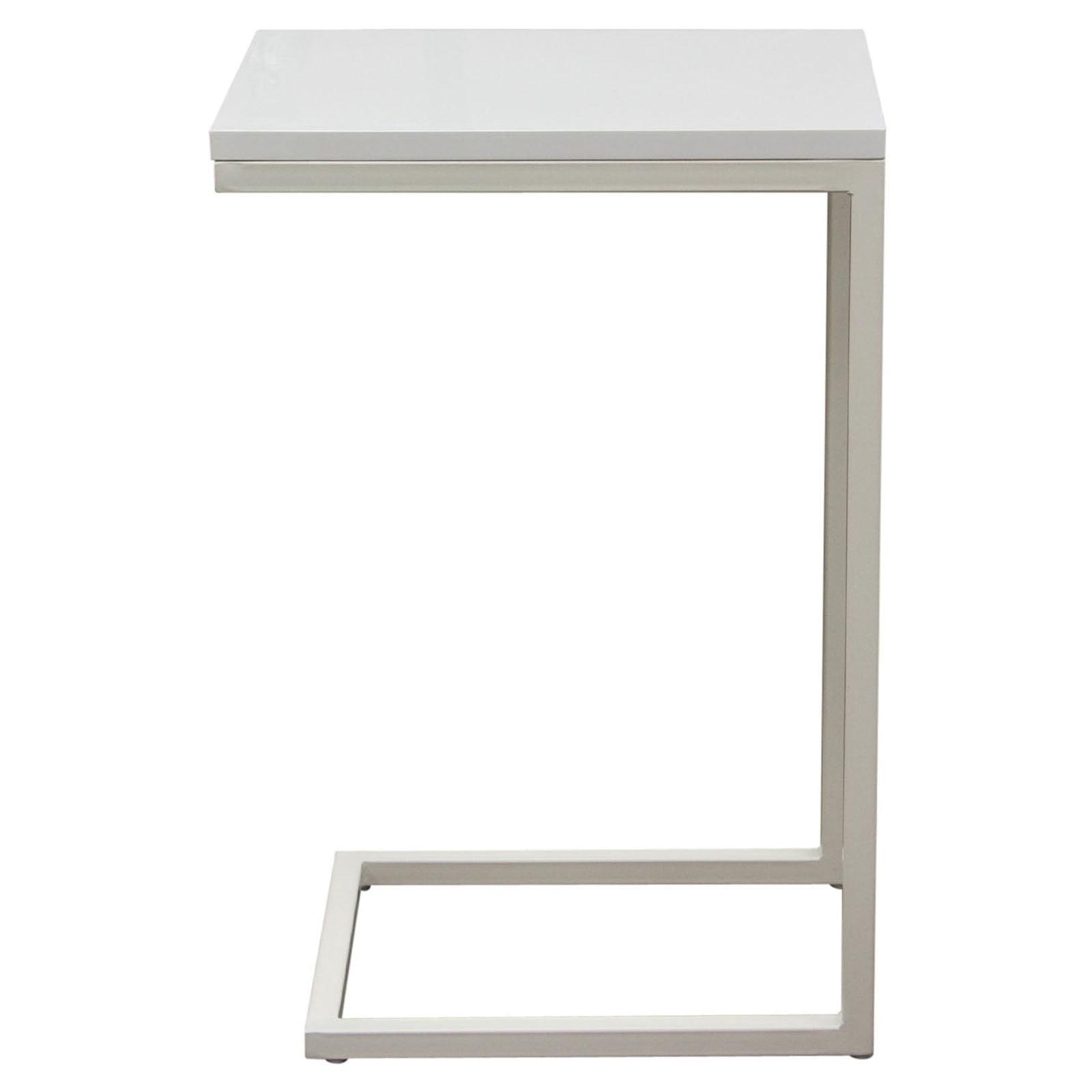 Diamond Sofa Sleek Metal Frame Accent Table by Diamond Sofa