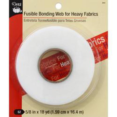 Fusible Bonding Web for Heavy Fabrics, .625